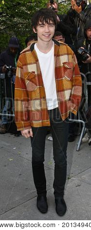NEW YORK - APRIL 27: Actor Liam Aiken attends the premiere of