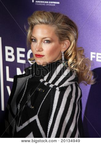 NEW YORK - APRIL 27: Actress Kate Hudson attends the premiere of