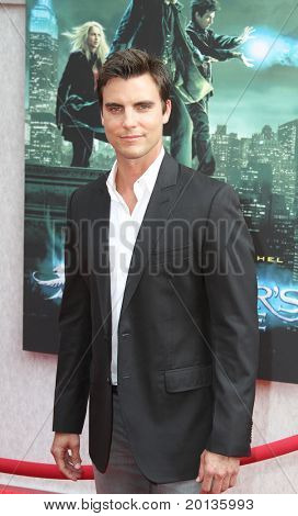 "NEW YORK - JULY 6: Actor Colin Egglesfield attends the premiere of ""The Sorcerer's Apprentice"" at the New Amsterdam Theatre on July 6, 2010 in New York City."