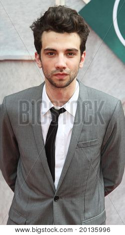 "NEW YORK - JULY 6: Actor Jay Baruchel attends the premiere of ""The Sorcerer's Apprentice"" at the New Amsterdam Theatre on July 6, 2010 in New York City."