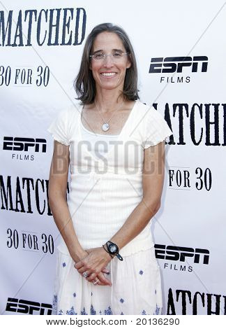 NEW YORK - AUGUST 26: Executive producer Lisa Lax attends ESPN Films'