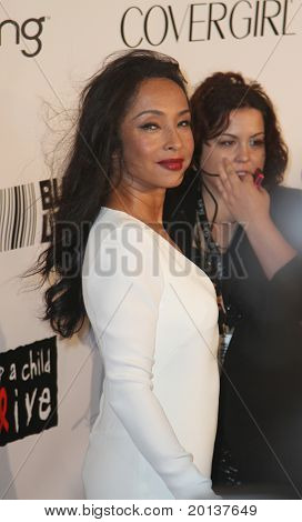 NEW YORK - SEPTEMBER 30: Singer Sade attends the Keep A Child Alive's Black Ball hosted by Alicia Keys at the Hammerstein Ballroom on September 30, 2010 in New York City.