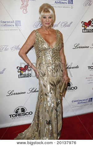 NEW YORK - OCTOBER 21: Ivana Trump attends Angel Ball 2010,hosted by Gabrielle's Angel Foundation for Cancer Research at Cipriani's on October 21, 2010 in New York City.