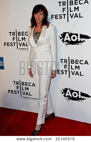 NEW YORK - APRIL 20: Jane Rosenthal attends the opening night premiere of