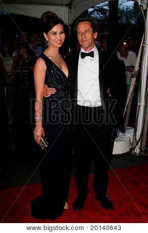 NEW YORK - APRIL 26: Brian Grazer and wife Chau-Guang Thi Nguyen attend the Time 100 Gala for the 100 Most Influential People in the World at the Time Warner Center on April 26, 2011 in New York City.