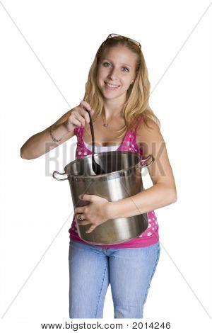 Stirring A Pot