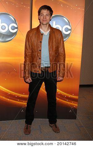 LOS ANGELES - MAY 14:  Greg Smith at the Disney ABC Television Group May Press Junket 2011 at ABC Building on May 14, 2011 in Burbank, CA