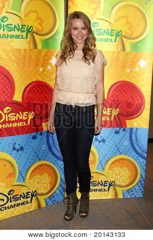 LOS ANGELES - MAY 14:  Bridgit Mendler at the Disney ABC Television Group May Press Junket 2011 at ABC Building on May 14, 2011 in Burbank, CA