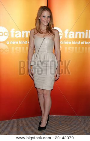 LOS ANGELES - MAY 14:  Katie Leclerc at the Disney ABC Television Group May Press Junket 2011 at ABC Building on May 14, 2011 in Burbank, CA