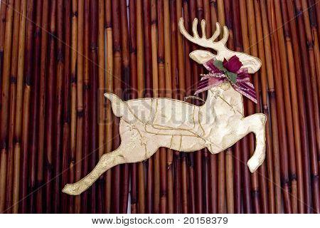folkart reindeer