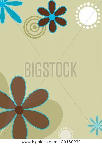 sage flower background