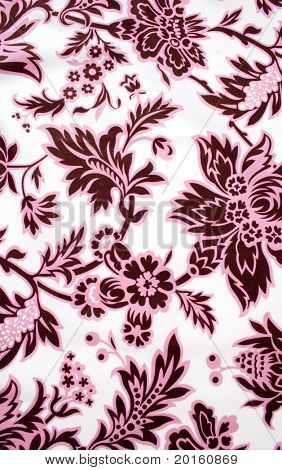 pink and burgundy paisley background