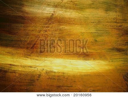 grungy painters canvas