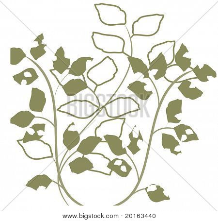 deconstructed leaves