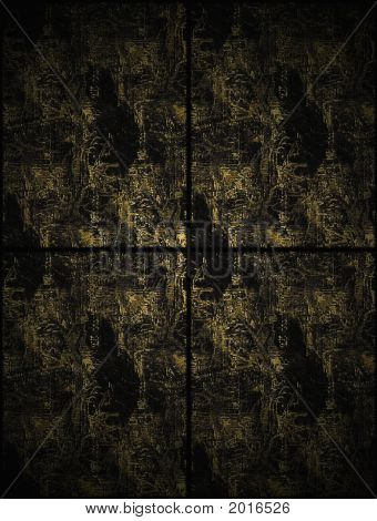 Black And Gold Texture