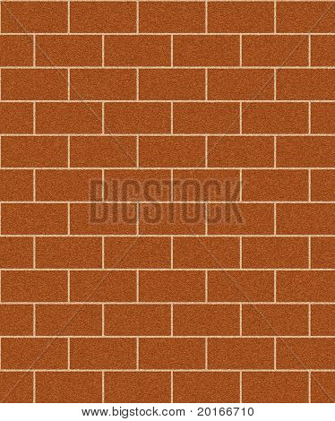 brick wall texture illustration