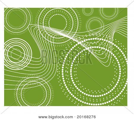 funky circle background series