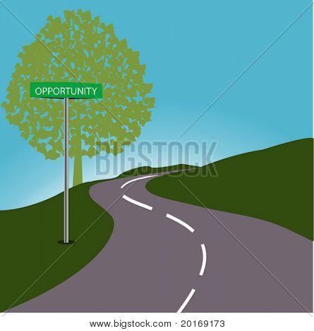 RoadSign oportunidad