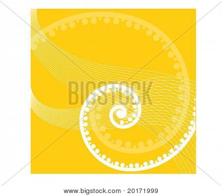 summer coil series gold vector