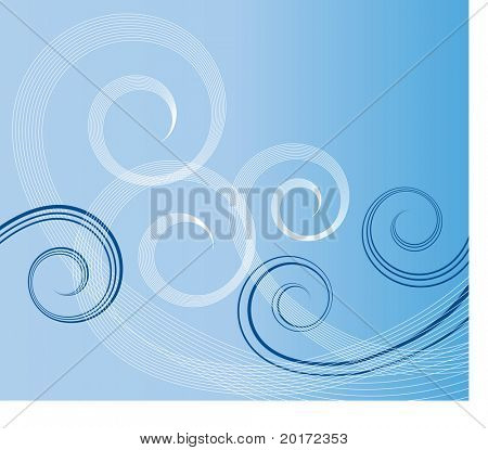 warm winds vector