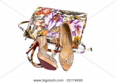 Women's Handbag And Shoes