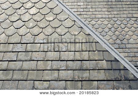 Old Slate Roof