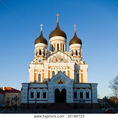 Alexander Nevsky Cathedral In Tallinn