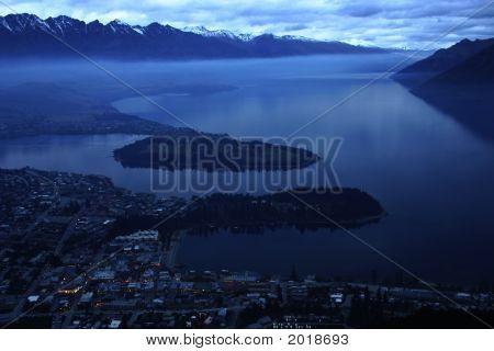 Lake Evening Landscape