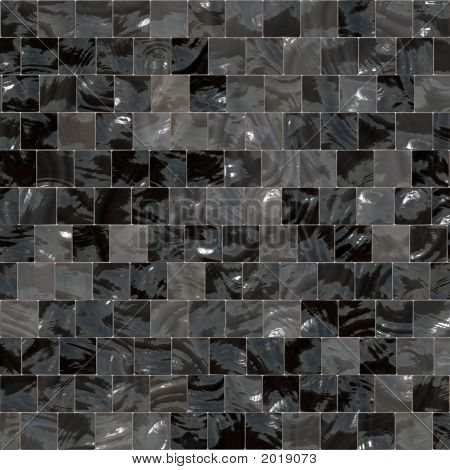 Gray And Black Square Floor Tiles