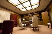 stock photo of business-office  - A move in ready luxury office with lavish furnishings - JPG