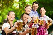 pic of lederhosen  - In Beer garden  - JPG