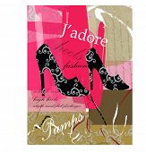 J'adore series  - pumps