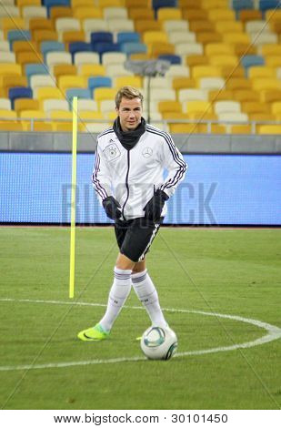 Mario Gotze Of Germany