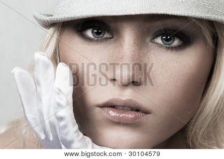 Sexy Blond Woman
