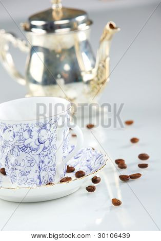 Caffe Cup With Beans