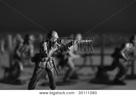 Toy Soldier with Rifle