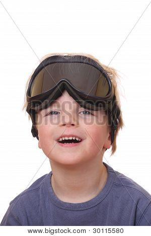 Boy With Ski Goggles