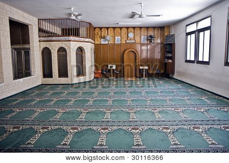 Small Mosque Interior