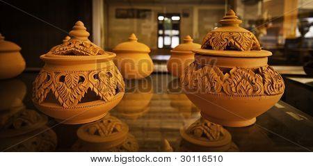 The Orange Flora Pottery