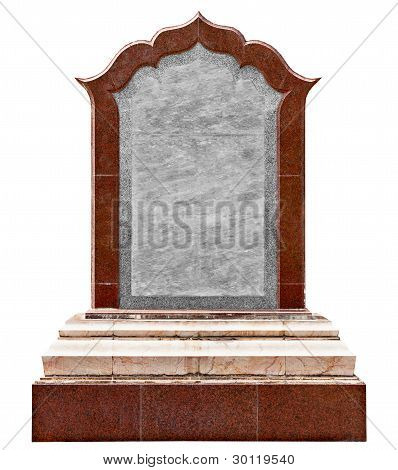 Large Old Granite Slab - A Monument