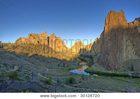 Smith Rock at Sunrise