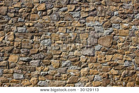 stone backdrop