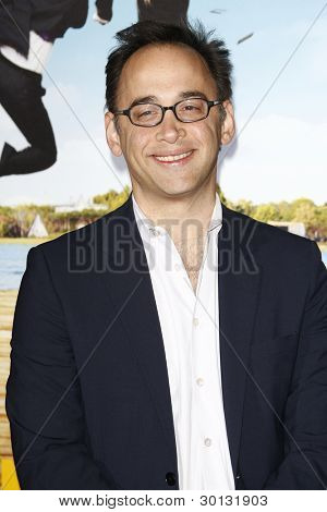 LOS ANGELES, CA - FEB 16: David Wain at the premiere of Universal Pictures' 'Wanderlust' held at Mann Village Theatre on February 16, 2012 in Los Angeles, California