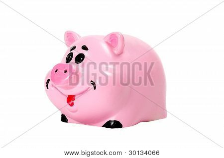 Pink Pig - Moneybox For Money