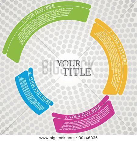 brochure design circle