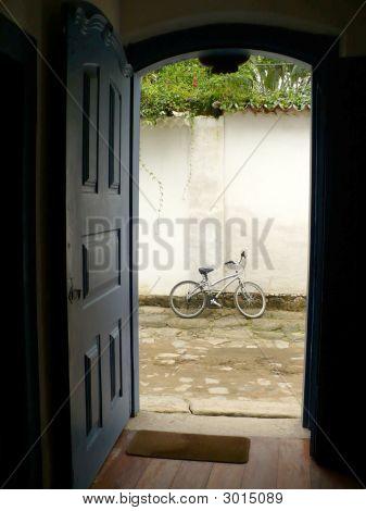 Bike And Door