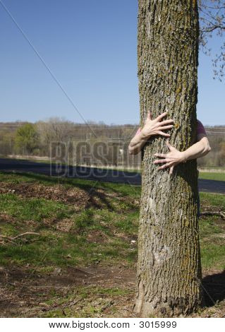 Genuine Tree Hugger