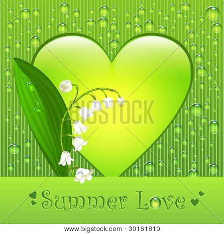 Summer love card