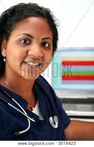 Minderheit Krankenschwester