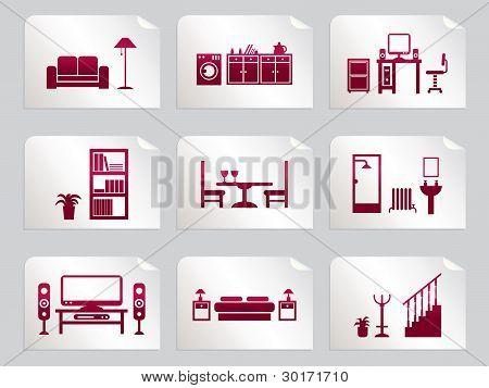 Zimmer-Aufkleber